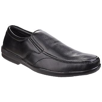 Fleet & Foster Mens Alan Formal Shoe Black