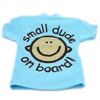 Indigo Small Dude On Board T Shirt