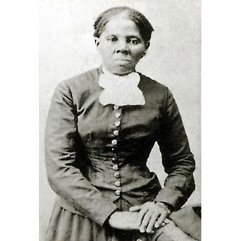 Stampa del manifesto di Harriet Tubman abolizionista americana di origine di scienza