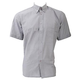 Dickies cortos de algodón/poliéster Oxford camisa / camisas de hombre