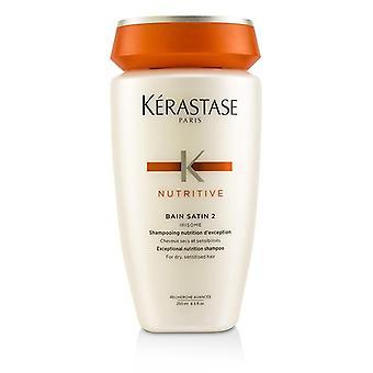 Kerastase Nutritive Bain Satin 2 Außergewöhnliche Ernährung Shampoo (für trockene sensibilisiertes Haar) - 250ml/8.5oz
