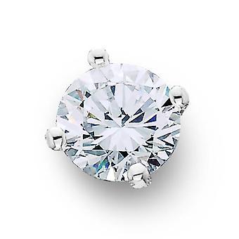 1 / 3ct Diamond Stud 14k White Gold