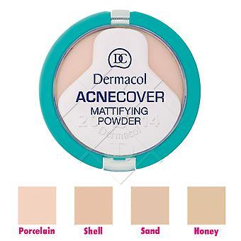 2 x Dermacol Acnecover Mattifying Powder 11g - Choose Shade