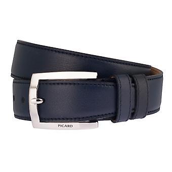 PICARD belts men's belts leather belt Ocean Blue 2534