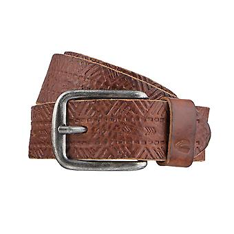 Cuir camel active ceinture ceintures ceintures hommes peuvent être raccourcie chameau 3184