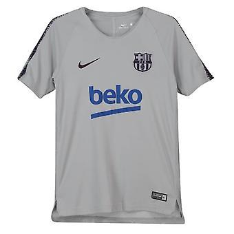 2018-2019 Barcelonan Nike Training paita (Wolf harmaa) - lapset