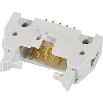 FCI-nastainen liitin + ejektori (lyhyt) yhteystiedot välistys: 2.54 mm nastat määrä: 16 No. rivien: 2 1 PCs()
