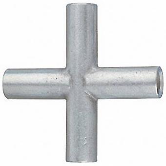 Klauke KV2.5 Cross connector 2.50 mm² Not insulated Metal 1 pc(s)