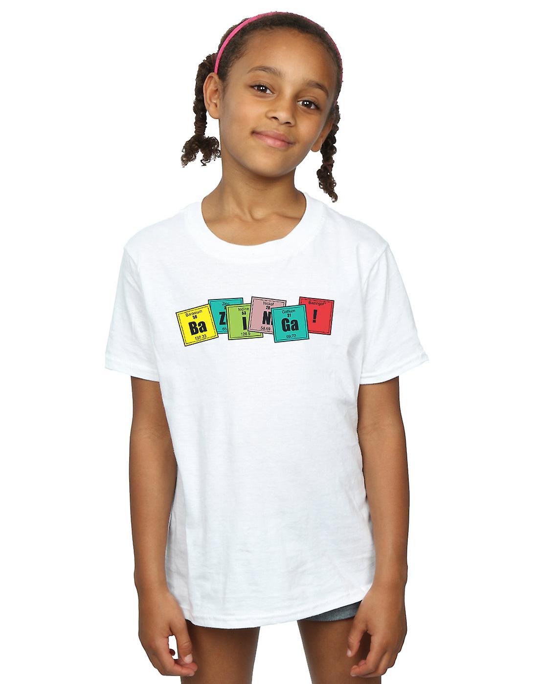 The Big Bang Theory Girls Bazinga Elements T-Shirt