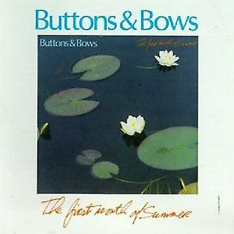 Buttons & Bow - First Mo. of Summer [CD] USA import