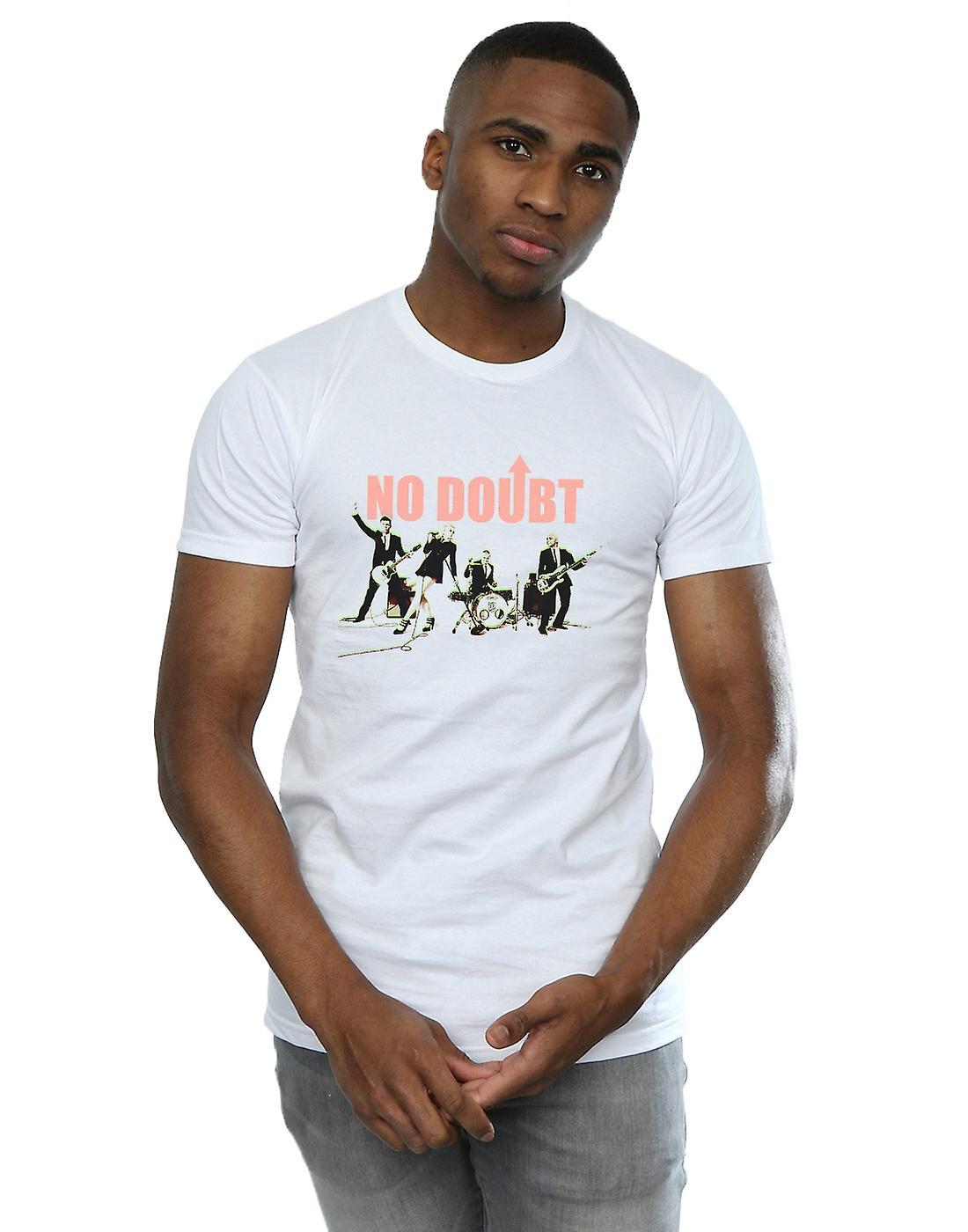 No Doubt Men's Photo Glow T-Shirt