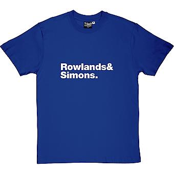 The Chemical Brothers Line-Up Royal Blue Men's T-Shirt