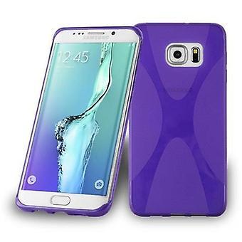 Cadorabo Hülle für Samsung Galaxy S6 EDGE PLUS Case Cover - Handyhülle aus flexiblem TPU Silikon – Silikonhülle Schutzhülle Ultra Slim Soft Back Cover Case Bumper