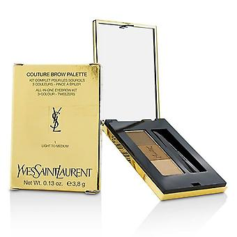 Yves Saint Laurent Couture Brow Palette - #1 Light To Medium - 3.8g/0.13oz
