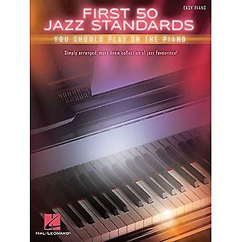 Ensimmäiset 50 Jazz-standardeja pitäisi pelata Piano
