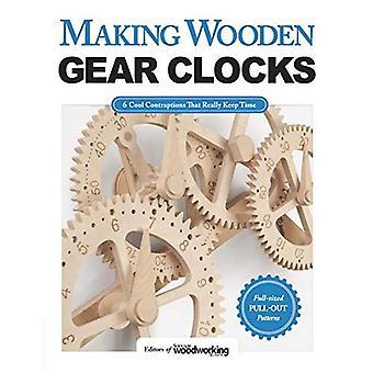 Faire des horloges engrenages en bois