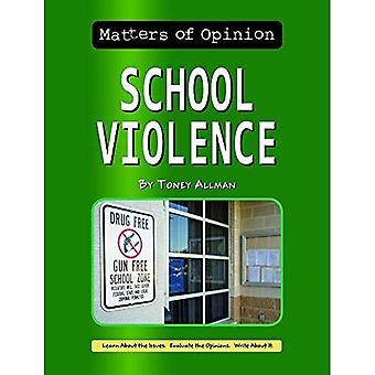 Violence à l'école (questions d'Opinion)