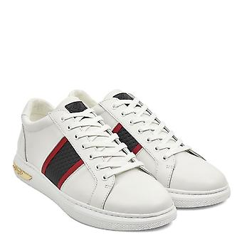 Ed Hardy Blade Low Trainers In White