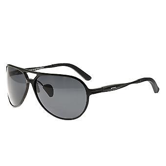 Razza Earhart alluminio Polarized Occhiali da sole - nero/nero