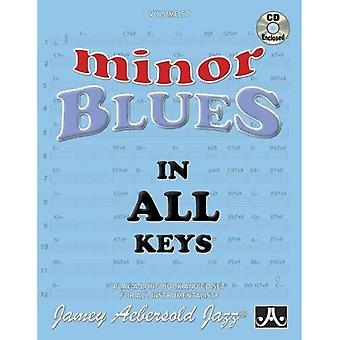 Jamey Aebersold Minor Blues� In All Keys Play-along Book And Cd