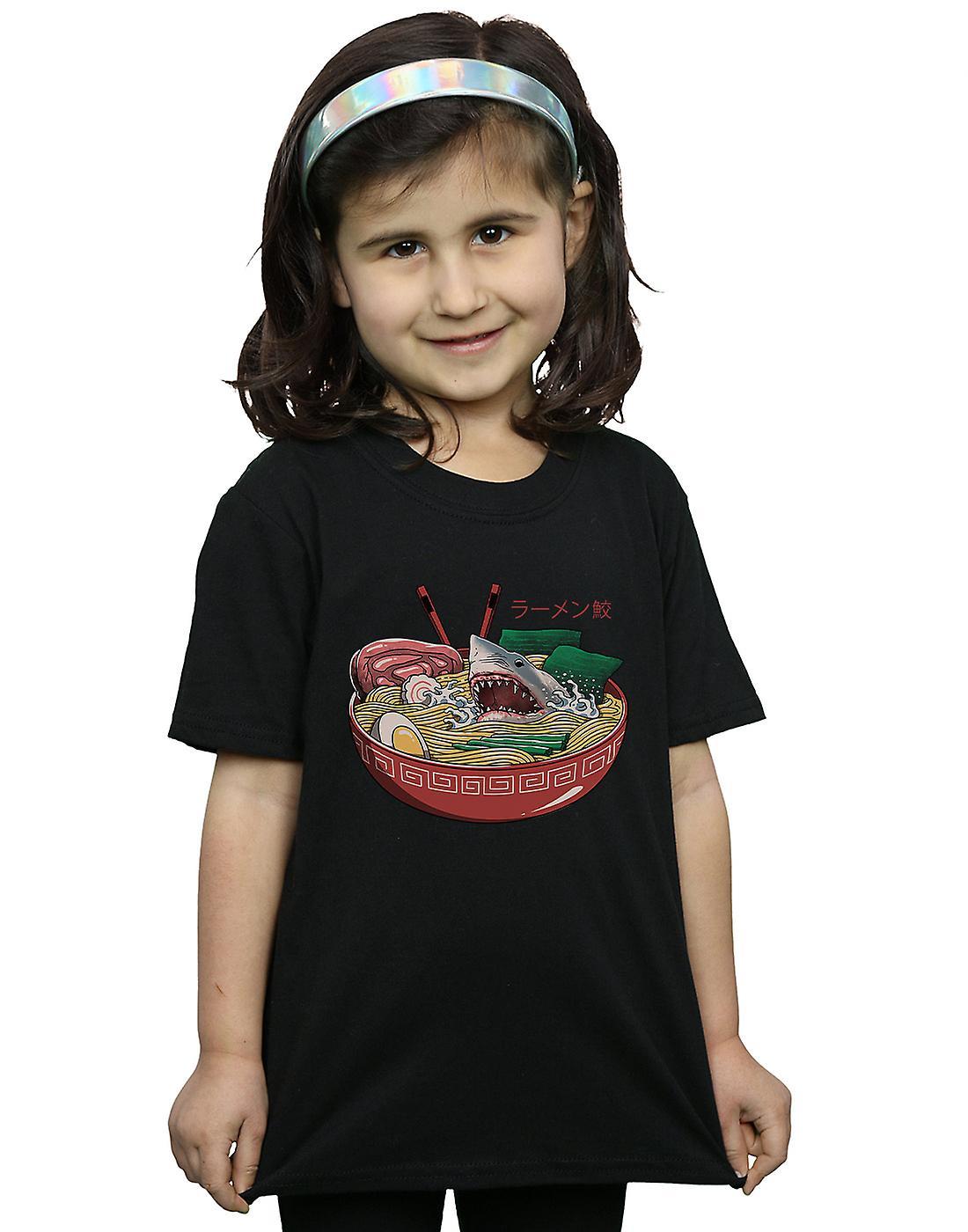 Vincent Trinidad Girls Ramen Shark T-Shirt
