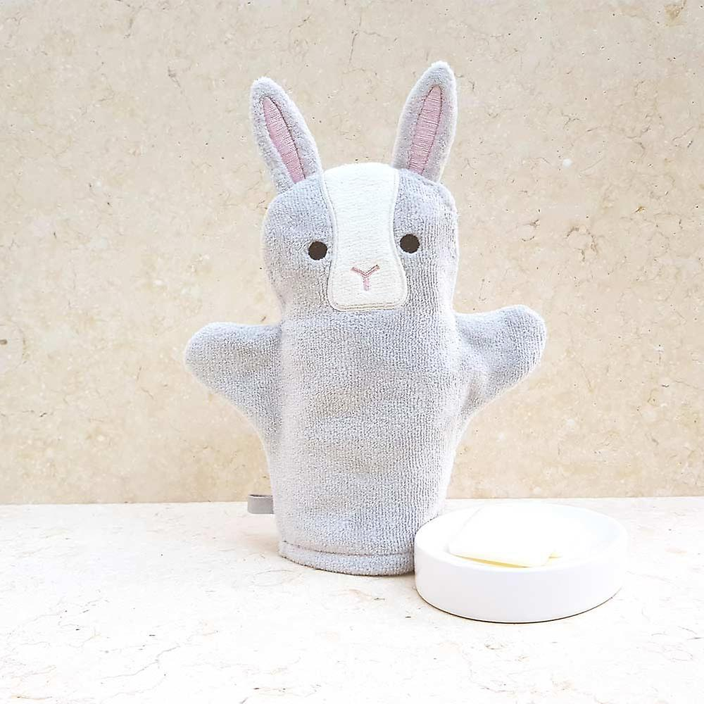 Sweet Pea Bunny bath mitt