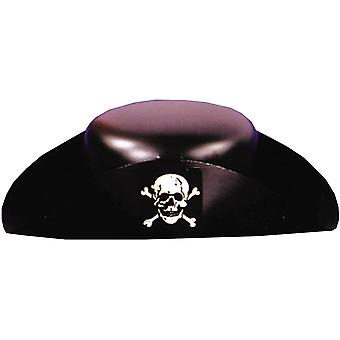 Plástico de chapéu de pirata para todos