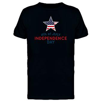 Independence, 4Th Of July Tee Men's -Image by Shutterstock