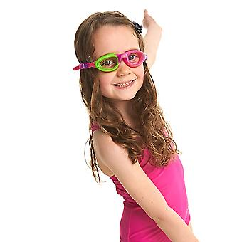 Zogg barn lidt Super Seal børn svømning beskyttelsesbriller grøn/lilla/Pink 0-6 år