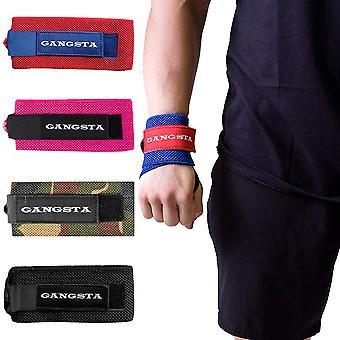 Sling Shot Gangsta Handgelenk Wraps von Mark Bell, IPF zugelassen Gewichtheben Unterstützung
