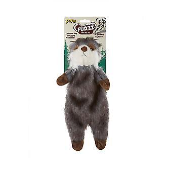 Interpet Limited Petlove Furzz Plus Raccoon Dog Toy