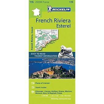 French Riviera - Esterel Zoom Map 115 - 9782067217805 Book