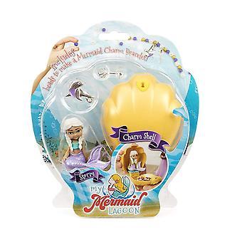 Min Mermaid Lagoon storm Mermaid Charm Shell Kids Toy