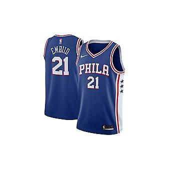 Nike Nba Philadelphia 76ers Joel Embiid Swingman Jersey - Icon Edition