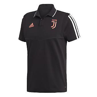 2019-2020 Juventus Adidas Polo Shirt (Schwarz)