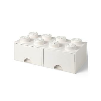 Lego Brick Aufbewahrungsbox 8 mit 2 Schubladen