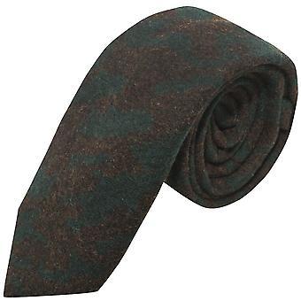 Luxury Persian Dark Teal Abstract Pattern Tie