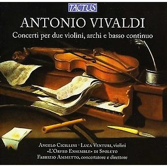 A. Vivaldi - Vivaldi: Concerti Per Due Violini, Archi E Basso Continuo [CD] USA import