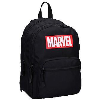 Marvel Logo Retro Black Backpack