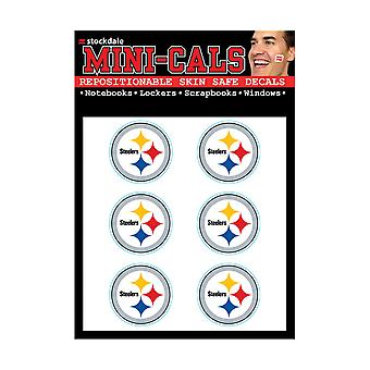 Wincraft 6 Erface Sticker 3cm - NFL Pittsburgh Steelers