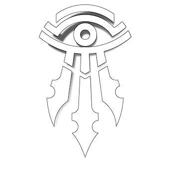 Klistermärke-Warcraft Movie-mage logo vinyl nya present leksaker j6261