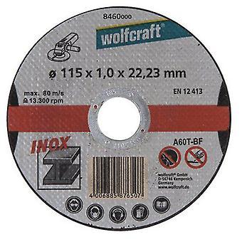 Wolfcraft skära skivor 115 mm i diameter (DIY, verktyg, förbrukningsmaterial och tillbehör)