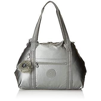 Kipling ART M Beach bag 58 cm 26 liters Grey (Metallic Stony)