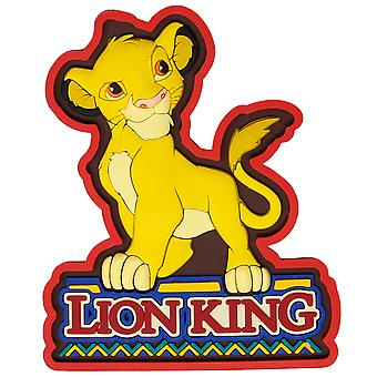 Lion King Soft Touch Simba Magnet