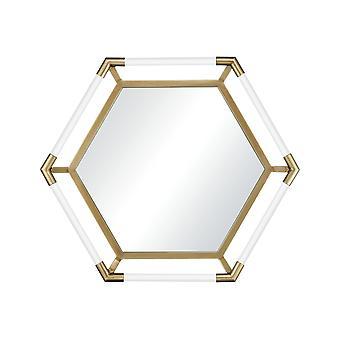 Vault wall mirror