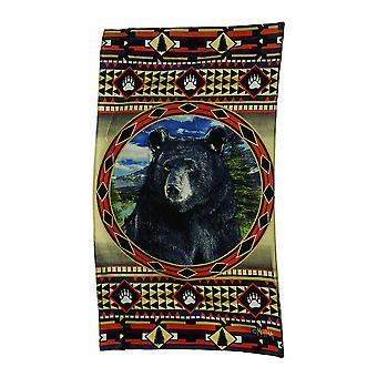 Bear Mountain Country rustisk dekorative Lodge stil stranden håndkle 63 X 35 tommer