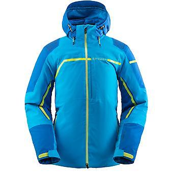 Spyder TITAN Herren Gore-Tex Primaloft Ski Jacke - blau