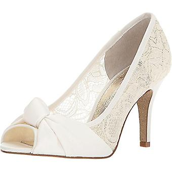 Adrianna Papell Womens Francesca Fabric Peep Toe Classic Pumps