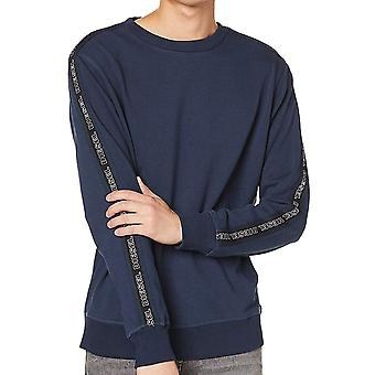 DIESEL UMLT-WILLY Sweatshirt, Navy, X-Large