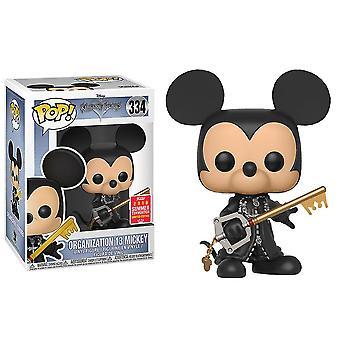 Kingdom Hearts Micky Organisatn 13 Unhooded SDCC 2018 US Pop